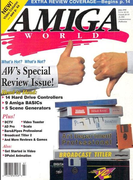 Amiga World July 1991