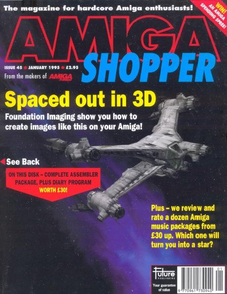 January 1995 Amiga Shopper