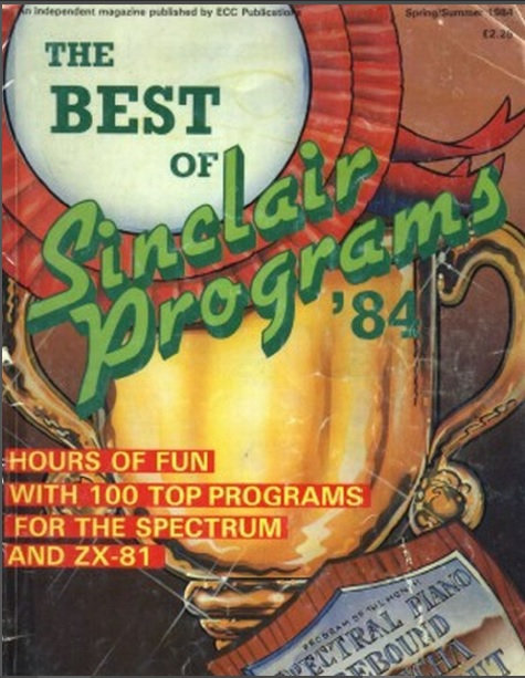The Best of Sinclair Programs Spring/Summer 1984