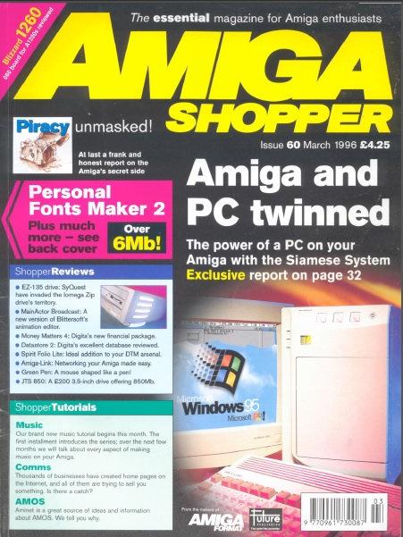 March 1996 Amiga Shopper