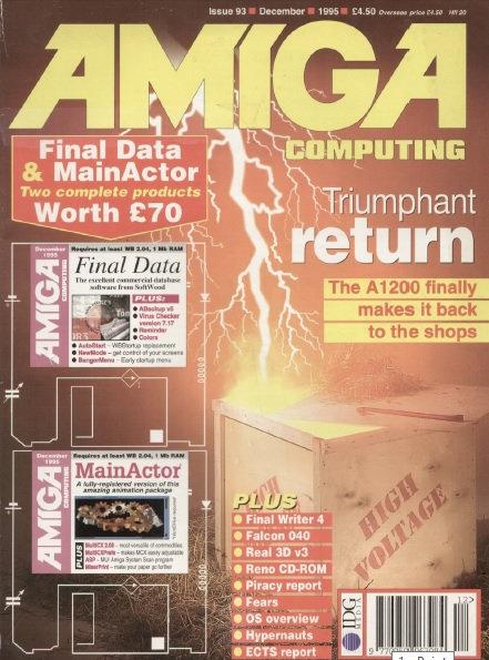 Amiga Computing Dec 1995