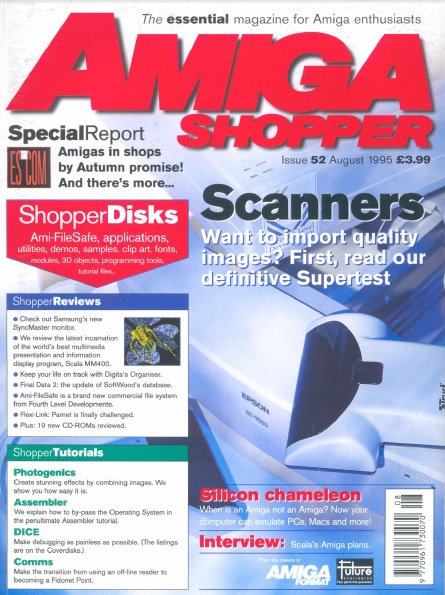August 1995 Amiga Shopper