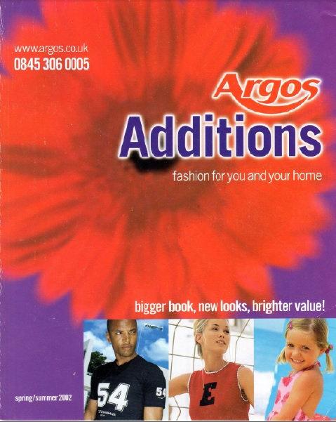 2002 Argos Additions Spring/Summer