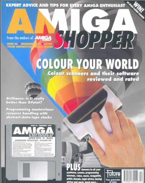 December 1993 Amiga Shopper