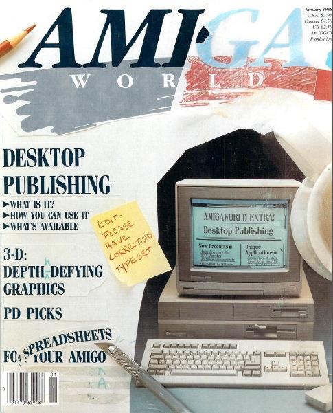 Amiga World Jan 1988