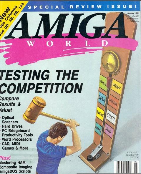 Amiga World Jan 1990