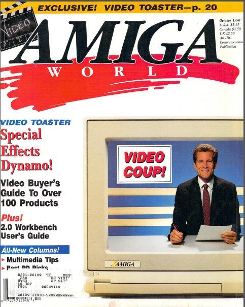 Amiga World Oct 1990