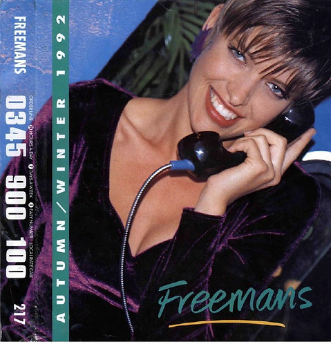 1992-1993 Freemans Autumn/Winter