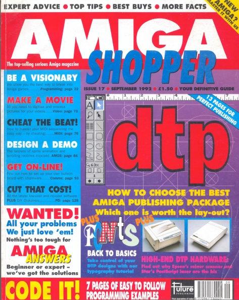 September 1992 Amiga Shopper