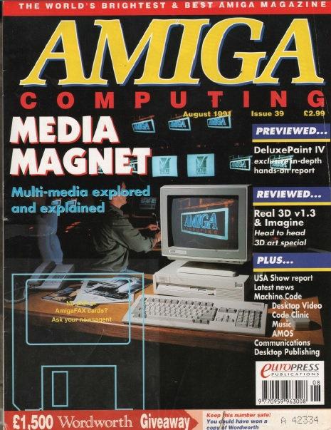 Amiga Computing Aug 1991