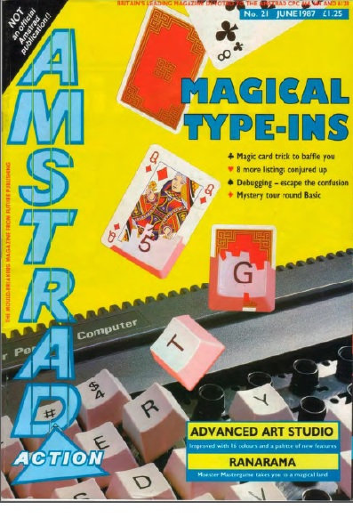 Amstrad Action June 1987