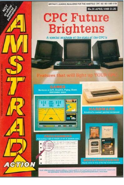 Amstrad Action April 1988