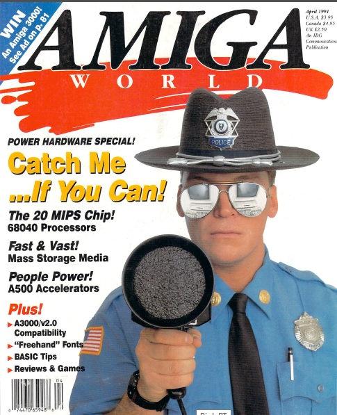 Amiga World April 1991