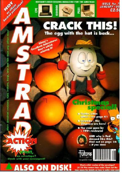 Amstrad Action Jan 1992