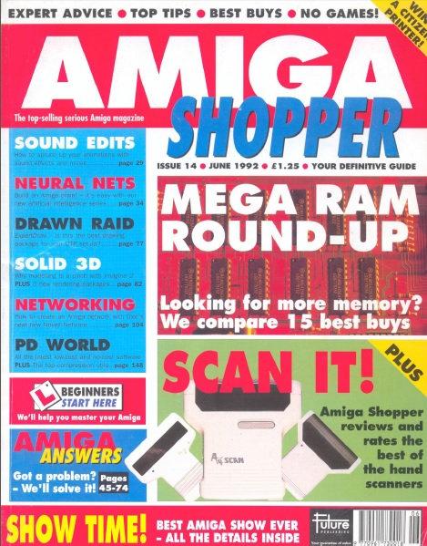 June 1992 Amiga Shopper