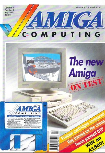 Amiga Computing July 1990