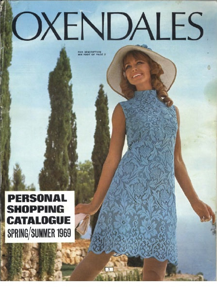 1969 Oxendales Spring/Summer
