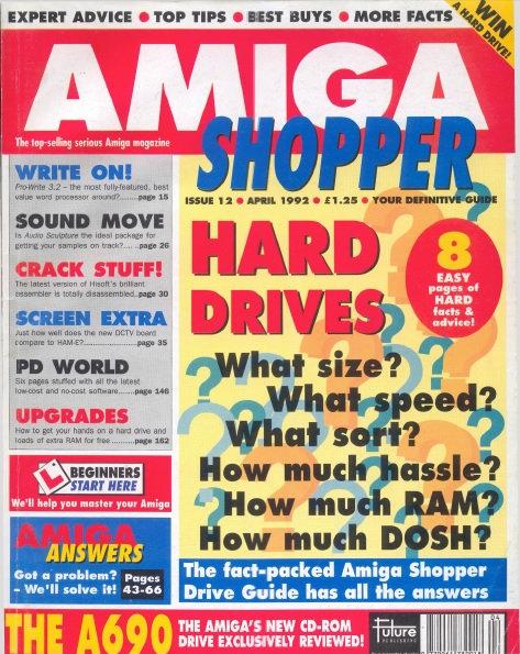 April 1992 Amiga Shopper
