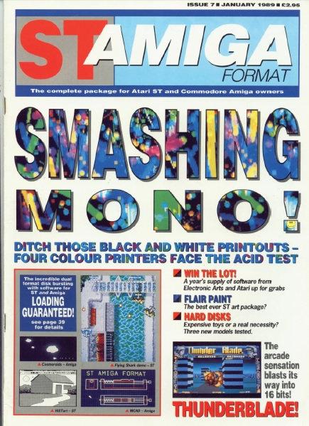 ST Amiga Format Jan 1989