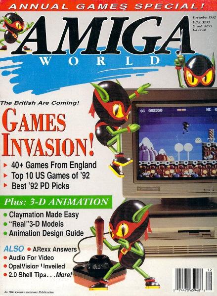 Amiga World Dec 1992