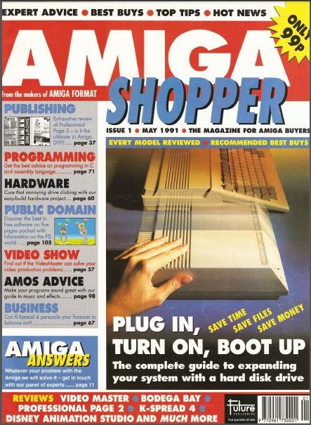 May 1991 Amiga Shopper