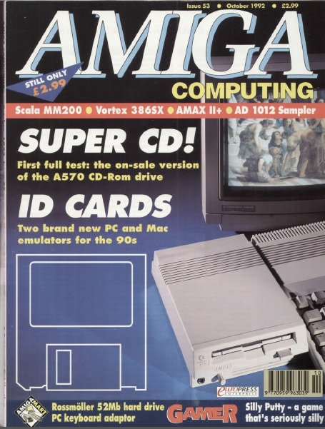 Amiga Computing Oct 1992
