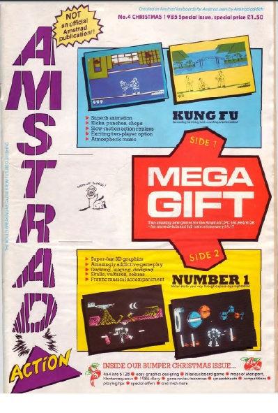 Amstrad Action Christmas 1985