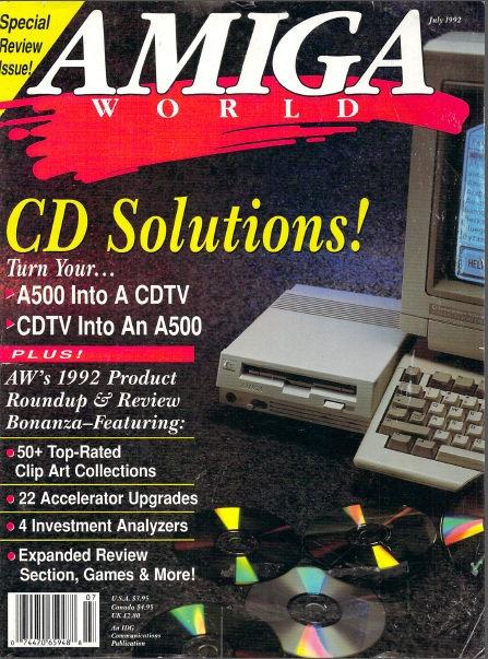 Amiga World July 1992