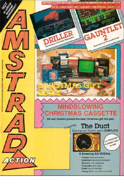 Amstrad Action Christmas 1987 / Jan 1988