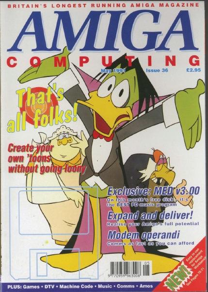 Amiga Computing May 1991