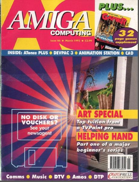 Amiga Computing March 1992