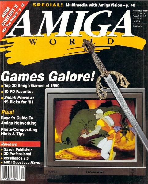 Amiga World Nov 1990