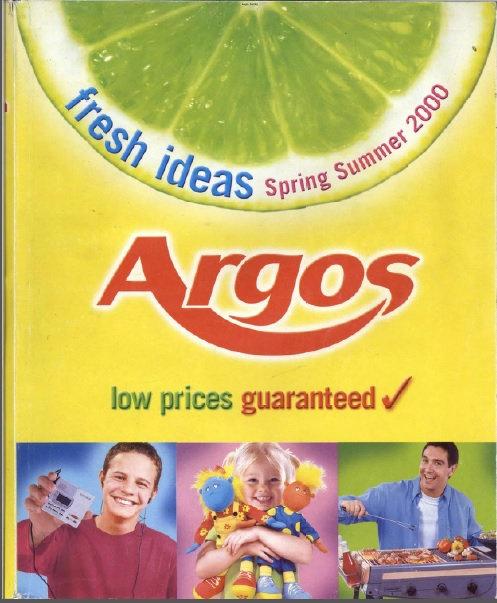 2000 Argos Spring/Summer