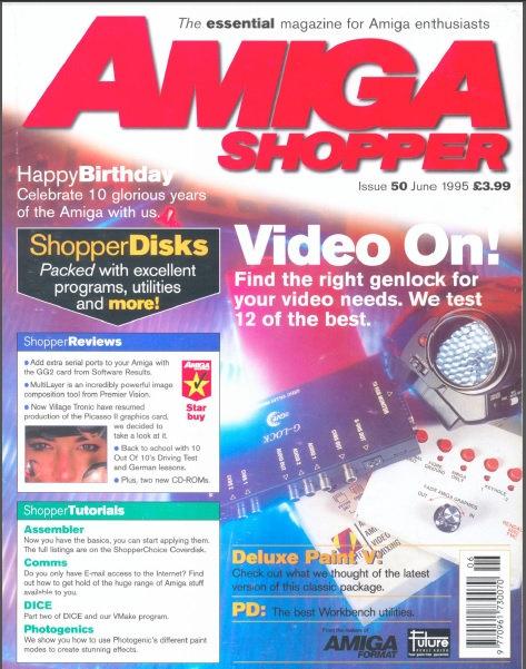 June 1995 Amiga Shopper