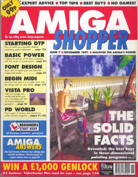 November 1991 Amiga Shopper