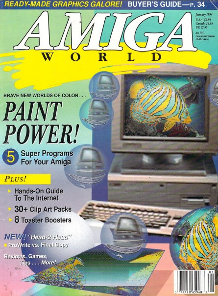 Amiga World Jan 1994