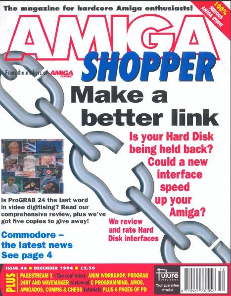 December 1994 Amiga Shopper