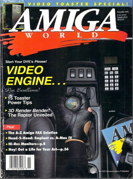 Amiga World Nov 1994