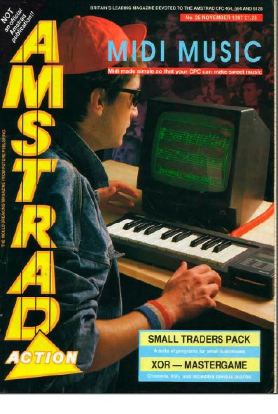 Amstrad Action Nov 1987