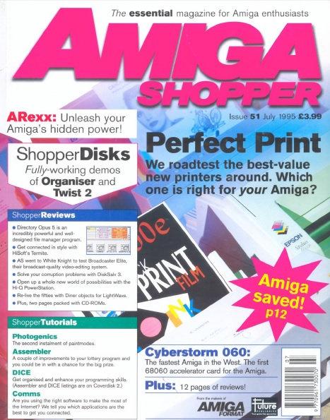 July 1995 Amiga Shopper