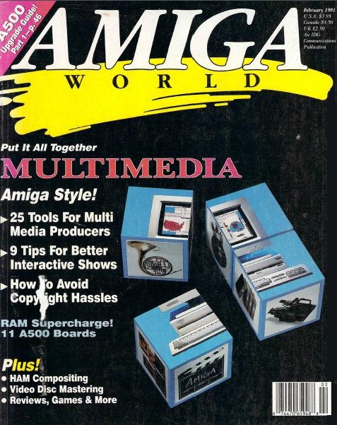 Amiga World Feb 1991