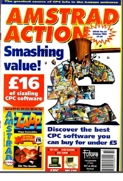 Amstrad Action Oct 1993