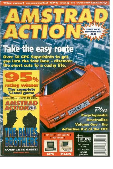 Amstrad Action Nov 1993