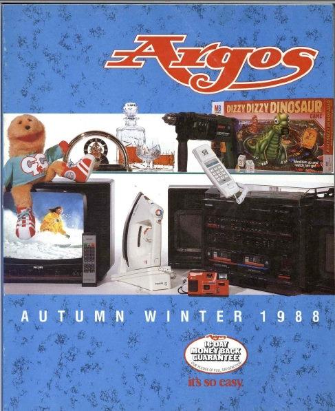 1988-1989 Argos Autumn/Winter