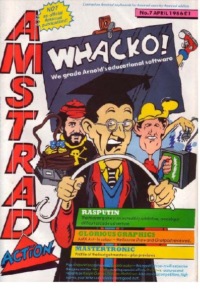 Amstrad Action April 1986