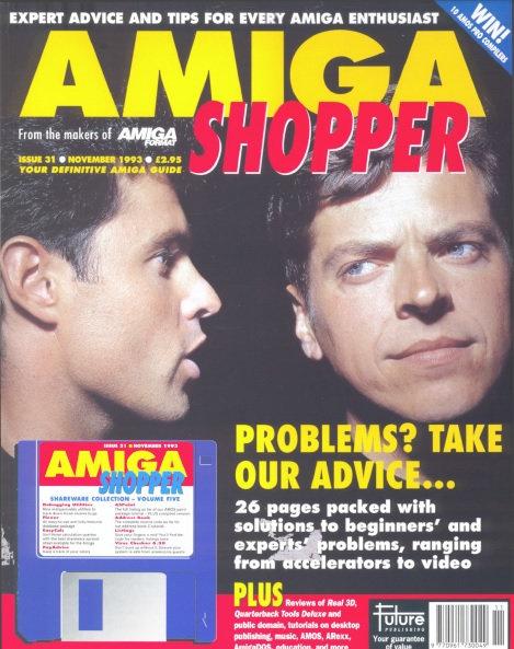 November 1993 Amiga Shopper