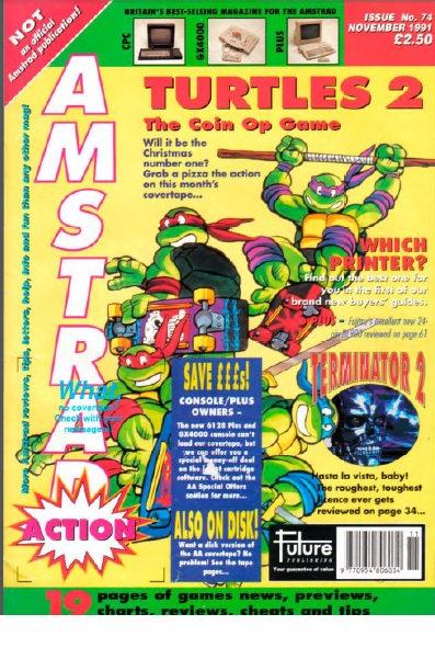 Amstrad Action Nov 1991