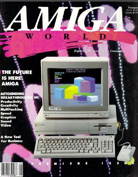 Amiga World Premiere 1985