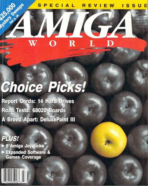 Amiga World July 1989