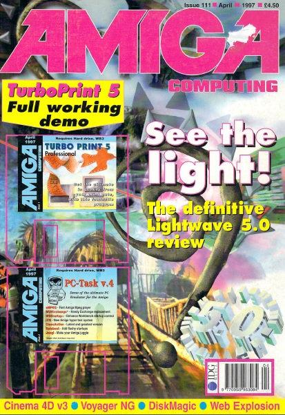 Amiga Computing April 1997